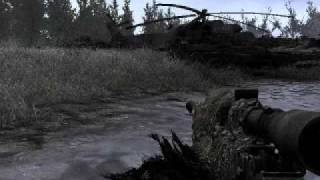 Call of Duty 4: All Ghillied Up - on Veteran - fast