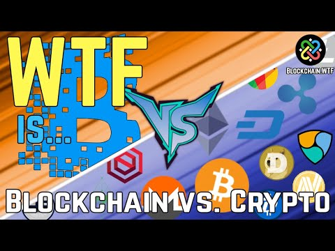 Whats the difference between blockchain and cryptocurrency
