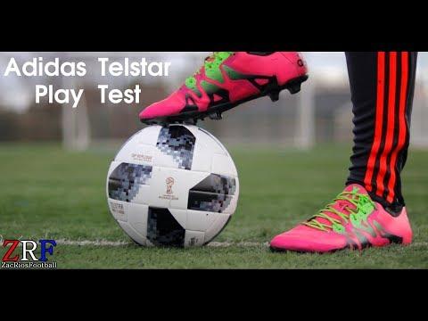 PLAY TEST: Adidas Telstar World Cup Match Ball | @ZacRiosFootball