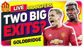 Solskjaer's Pogba & Van De Beek Transfer Plan? Man Utd Transfer News