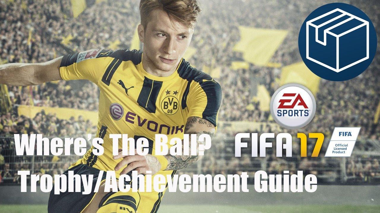 fifa 17 where s the ball trophy achievement guide youtube rh youtube com FIFA 12 FIFA 08 PS3