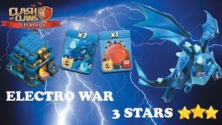 Electro Dragon attack th12 3 star | Clash of clans strategy | COC#25