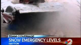Snow emergency level reminder