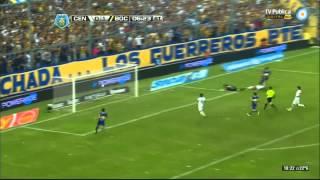 Rosario Central 2 - 1 Boca - Fecha 11 Torneo final 2014