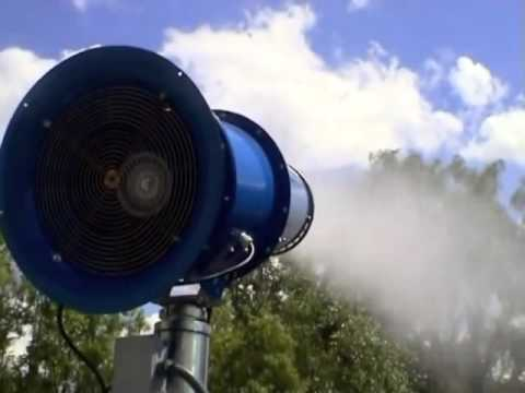 Industrial fogging system / Fog Cannon Dust suppression / Dubai / Abu Dhabi UAE