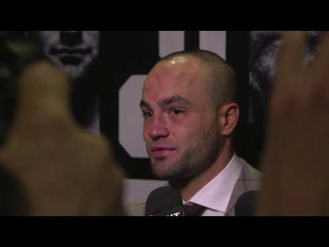 UFC 205: Eddie Alvarez Backstage Interview