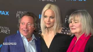 "Jennifer Lawrence attends ""A Beautiful Planet"" Premiere"
