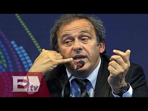 Michel Platini anuncia su candidatura para la presidencia de la FIFA / Todo México