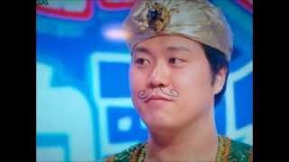 ものまね歌合戦(?)でエハラマサヒロさんが アラジンのFriend Like Meを...