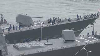 M180609B 海上自衛隊舞鶴基地 北吸岸壁一般公開