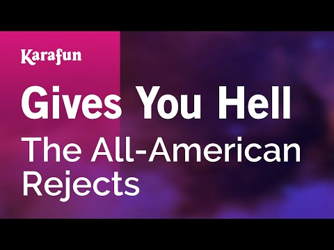 Karaoke Gives You Hell - The All-American Rejects *