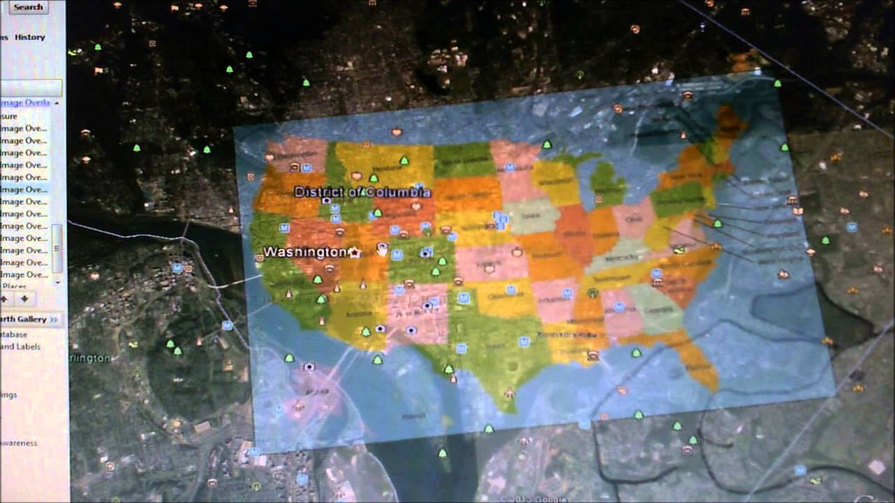 Day Of The LORD Mapped Out Showing Where The Nukes FallNew Madrid - Map of us after new madrid earthquake