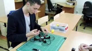 Открытый урок по робототехнике с Ильей Сезько