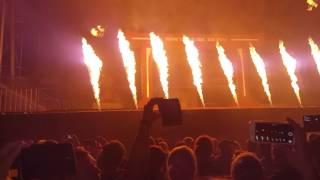 Feuerwerk beim Tourfinale von Mario Barth Waldbühne Berlin 08.07.2017