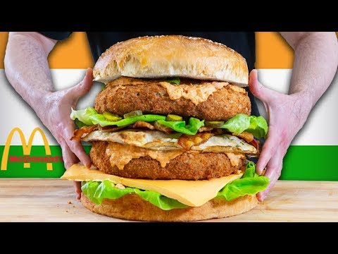 Mcdonald's Butter Chicken Big Mac - Epic Meal Time