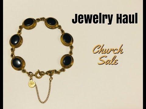 Jewelry Haul Church Sale