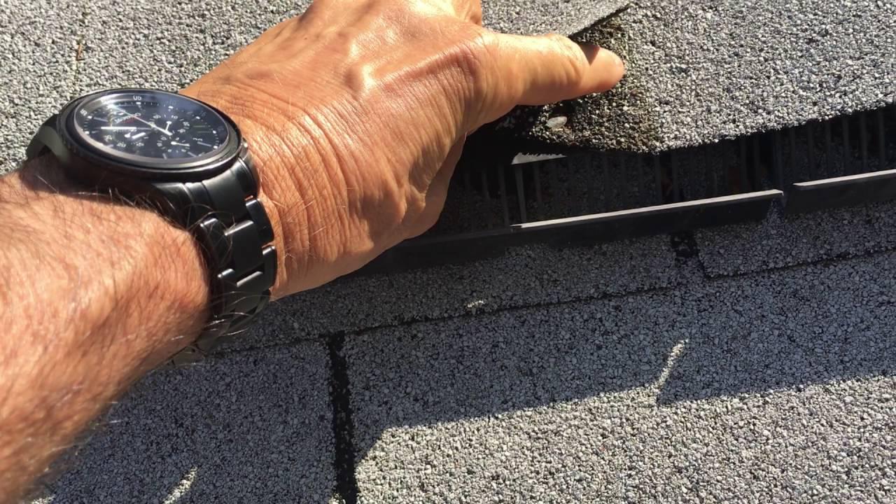 Ridge Vent Leak Repair Springfield Va Roofer911
