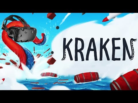 Smashing Ships with Wacky Tentacles! - KRAKEN Gameplay - VR HTC Vive