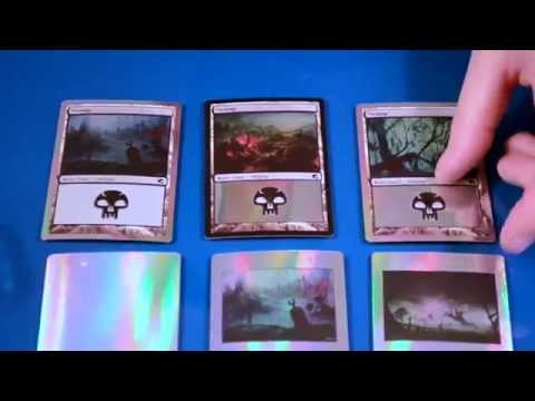 How to make a custom foil MTG card part 2