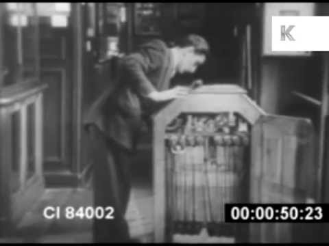 Amazing look inside early Kinetoscope