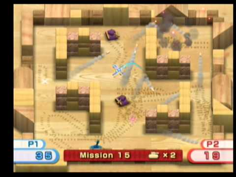 wii play tanks multiplayer 3 youtube rh youtube com Play Wii Tannks Wii Play Fishing