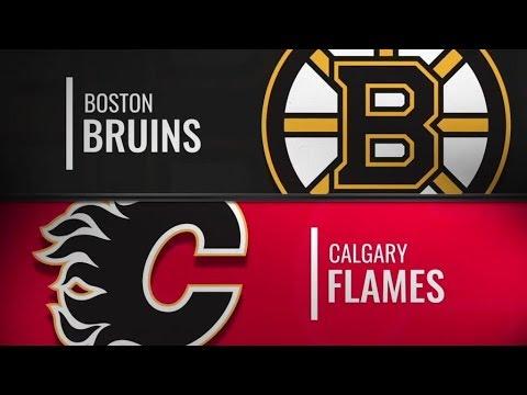 Condensed Game:  Bruins vs Flames   Sep 15,  2018