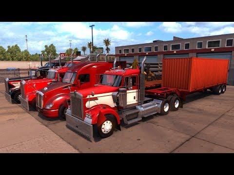 Ruta Multiplayer American Truck Simulator de California a Nevada