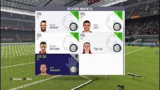 FIFA 18 Inter 5 x 0 Atlético Madrid