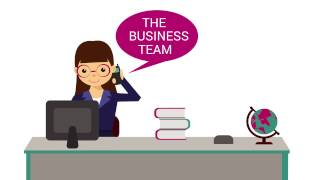 Lancashire Teaching Hospitals Business Team Motion Graphic