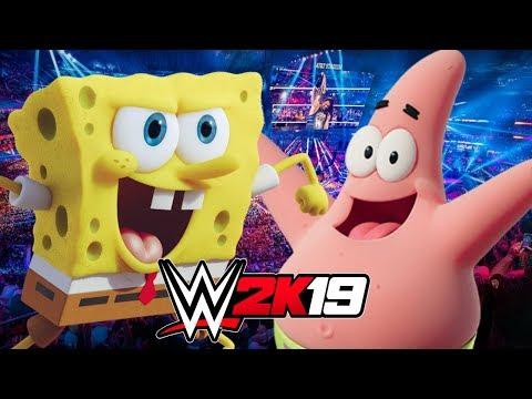 SPONGEBOB Vs PATRICK | WWE 2K19 Gameplay