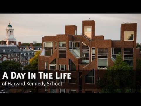 A Day In The Life of Harvard Kennedy School