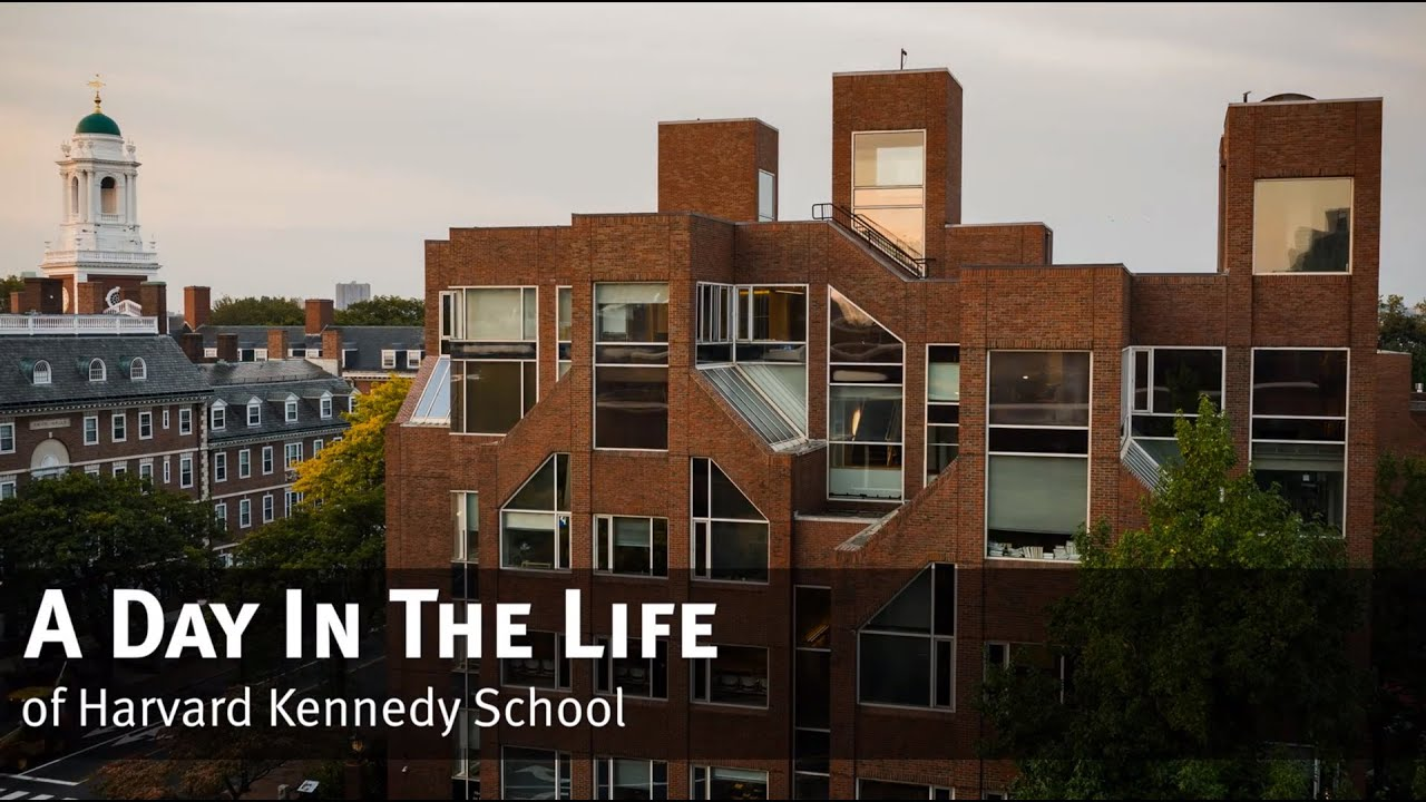 A Day In The Life of Harvard Kennedy School - YouTube
