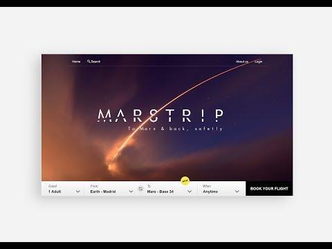 UI Design Process - MARSTRIP