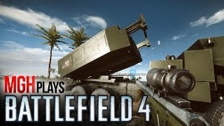 BATTLEFIELD 4 LAUNCH! Testing ALL Vehicles! (PLUS AWESOME STUNT!)