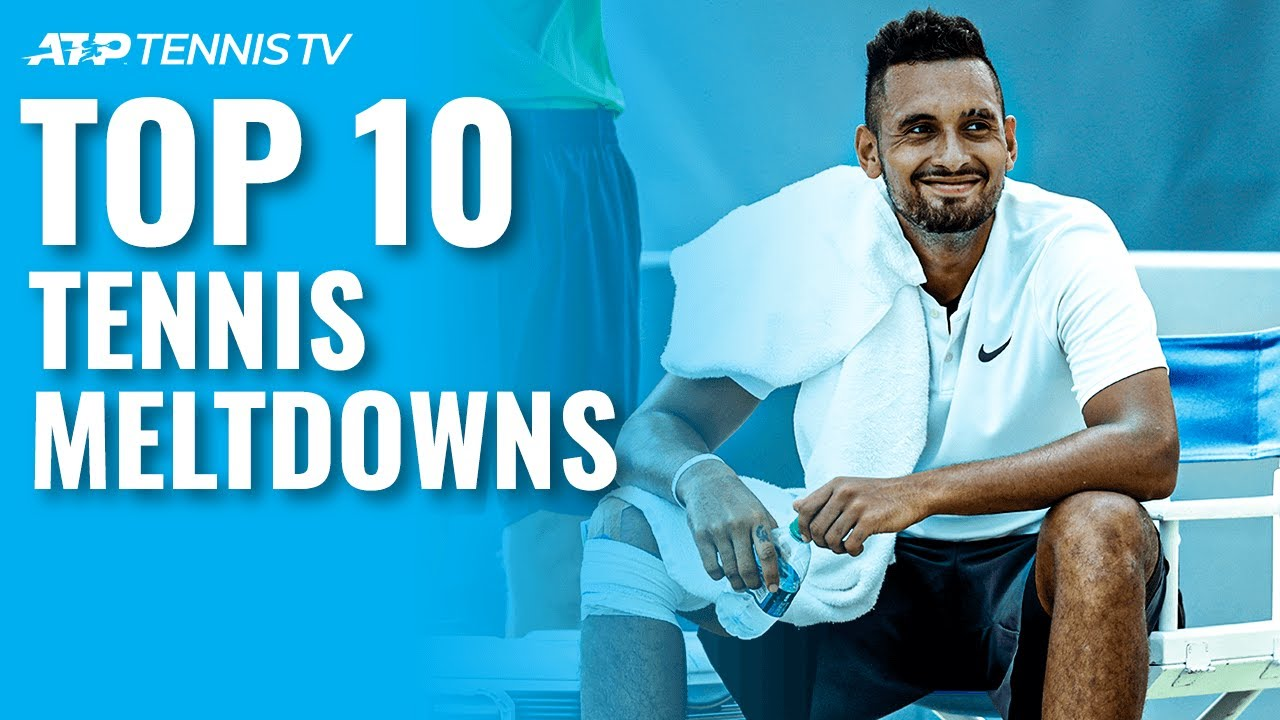 Top 10: ATP Tennis Meltdowns & Angry Moments!