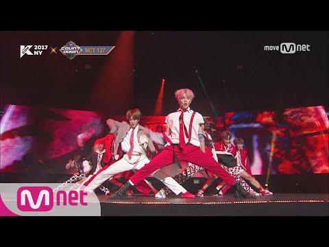[KCON NY] NCT 127 - INTRO+Cherry Bomb ㅣ KCON 2017 NY X M COUNTDOWN 170706 EP.531