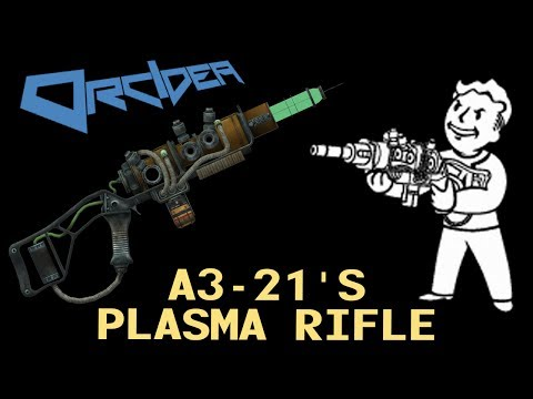 Fallout 3 Unique Weapons - A3-21's Plasma Rifle (plus Wired Reflexes)
