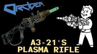 Fallout 3 Unique Weapons - A3-21's Plasma Rifle (plus Wired Reflexes) thumbnail