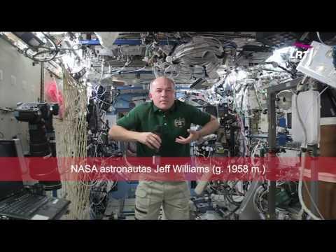 Mokslo sriuba: kaip astronautai jau�iasi kosmose?