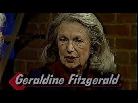 Geraldine Fitzgerald, Katie Kelly 1985 TV , Alzheimer's