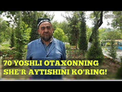 LAGANBARDORLAR-Muhammad Yusuf she'ri 70 YOSHLI otaxon talqinida!