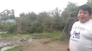 "Video: A ""orillitas"" del Arenales, familias conviven con aguas servidas"