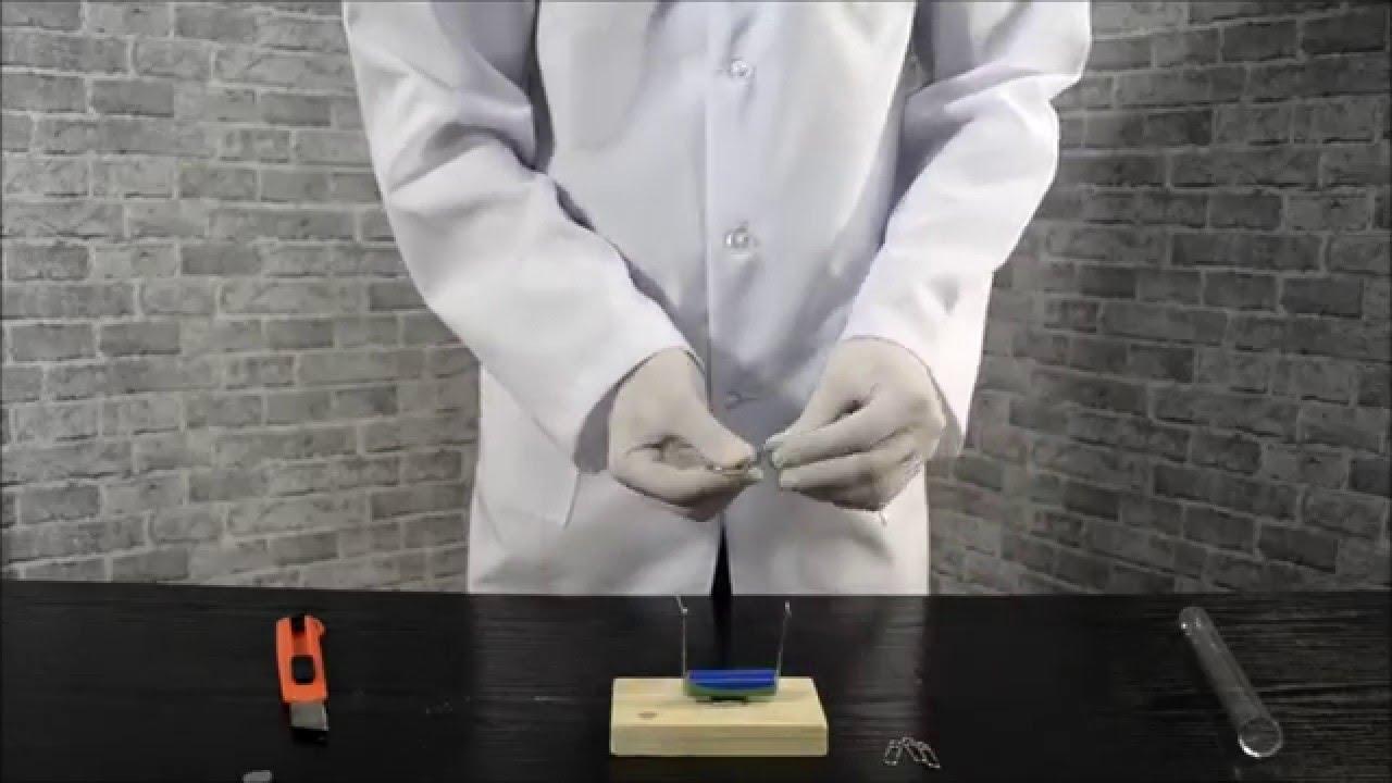 Простейший электродвигатель/The simplest electric motor