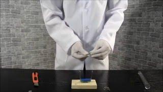 Простейший электродвигатель/The simplest electric motor(Подробное описание видео опыта Вы можете посмотреть на нашем сайте: http://virtuallab.by/publ/video_opyty/prostejshij_ehlektrodvigatel/1-1-0..., 2015-12-13T11:13:58.000Z)