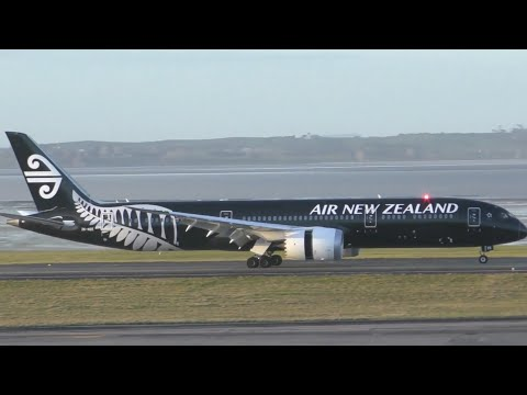 Auckland Airport Planespotting