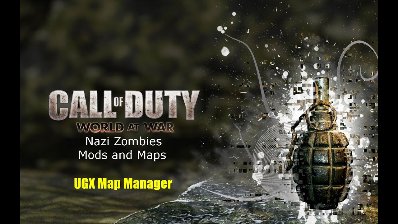 Ugx Map Manager UGX MAP MANAGER   COD World at War Nazi Zombies Mods and Maps  Ugx Map Manager