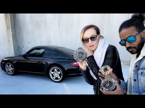 Porsche Carrera 997/911 rear strut mounts replacement DIY.