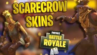 New Fortnite Scarecrow Halloween Skins & More | Battle Royale Update v6.01