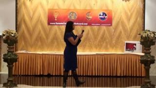 TCMA 2015  - NDP greetings by  Rathika Sitsabaiesan