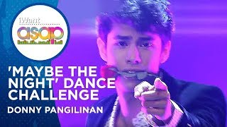 Donny Pangilinan - 'Maybe The Night' Dance Challenge | iWant ASAP Highlights